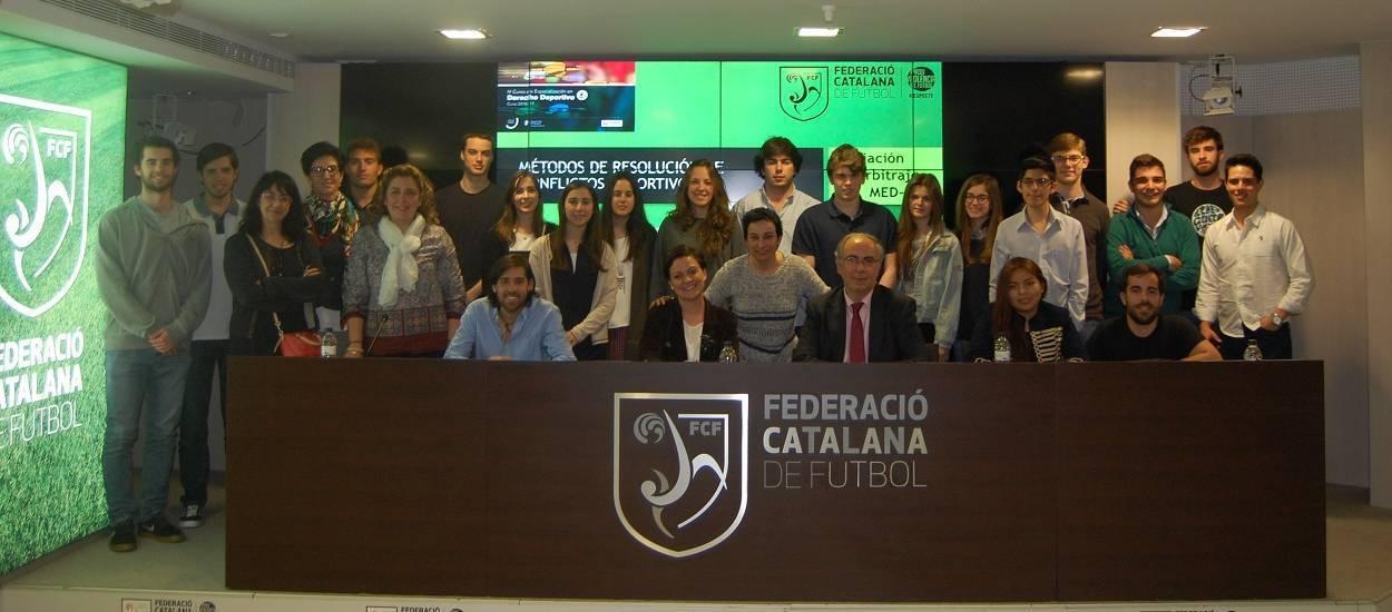 La Universitat de Navarra visita la FCF