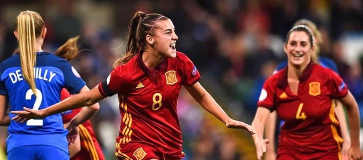 La Selecció Espanyola sub 19 femenina, campiona d'Europa