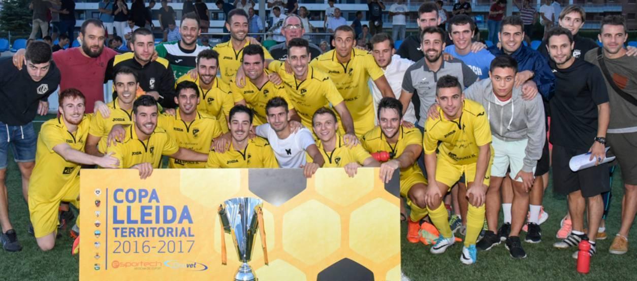 L'EFAC Almacelles es proclama campió de la Copa Lleida