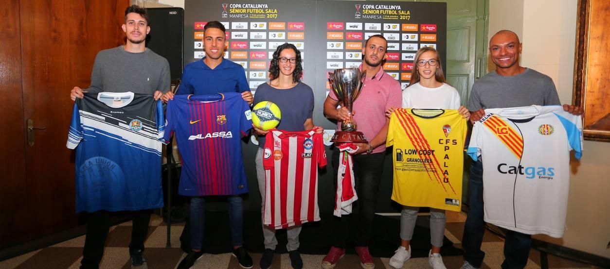 La il•lusió dels capitans a la Copa Catalunya Sènior de Futbol Sala