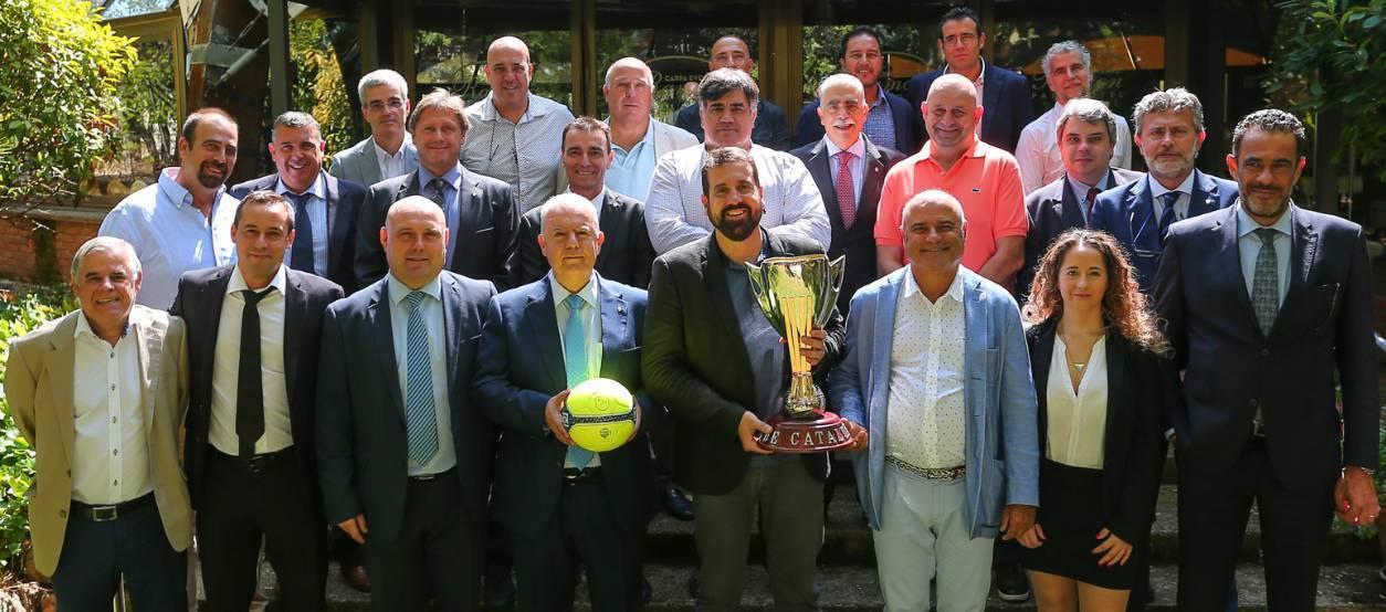 Presentada la Fase Final de la Copa Catalunya Sènior de Futbol Sala 2017