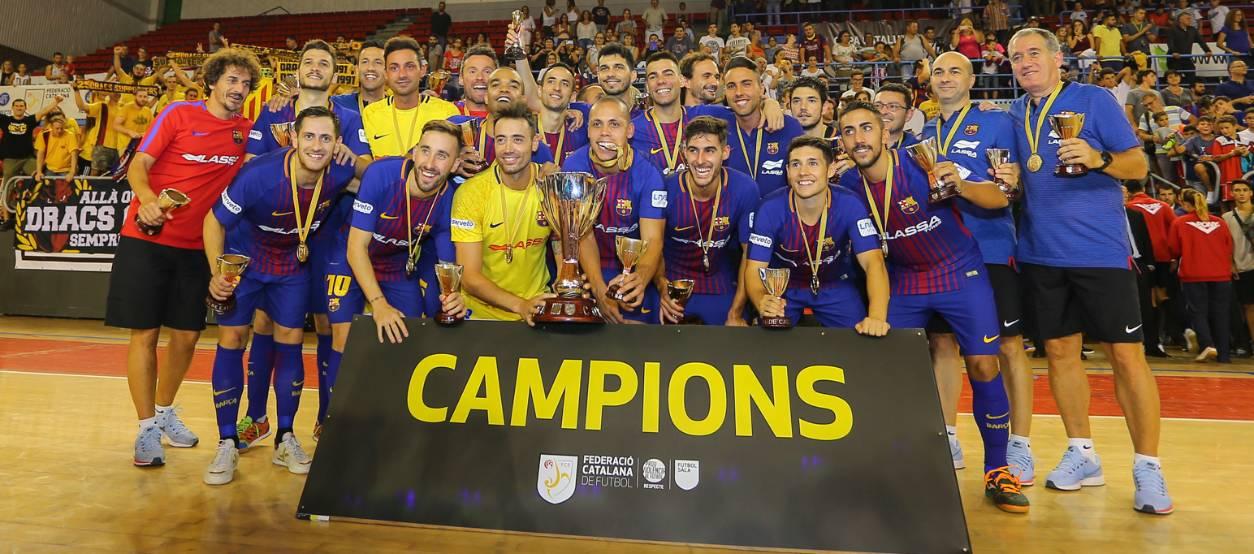 Rivalitat i lluita en una Copa Catalunya que aixeca el Barça Lassa
