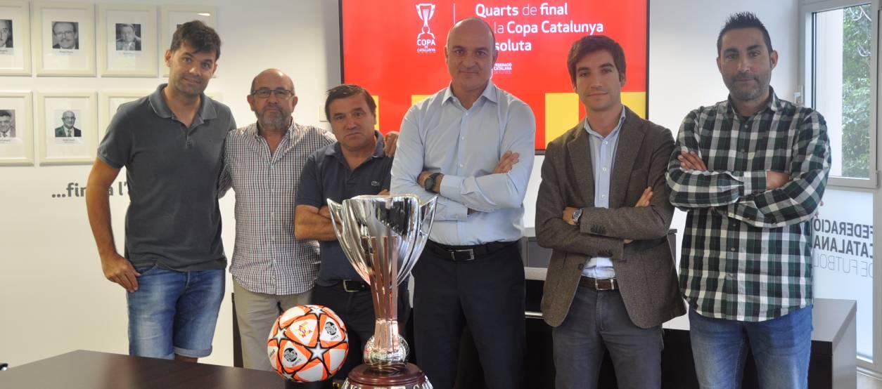 Sortejats els Quarts de Final de la Copa Catalunya Absoluta