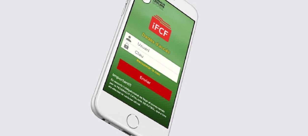 L'FCF posa a disposició dels clubs una app de la Intranet federativa