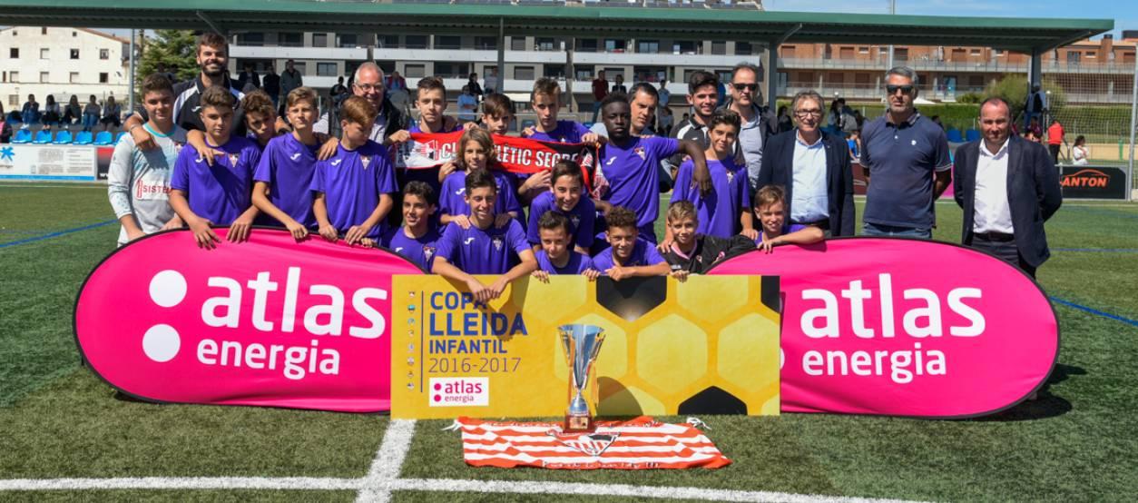 L'Atlètic Segre revalida la Copa Lleida Infantil