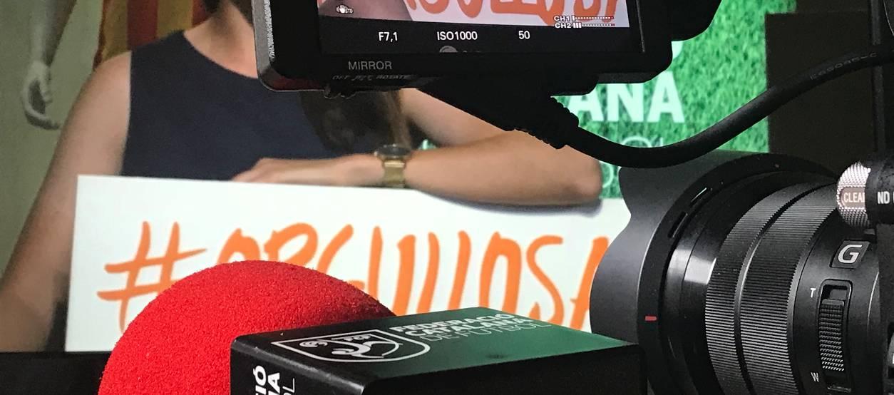 L'FCF TV emetrà reportatges i entrevistes setmanals de futbol i futbol sala femení