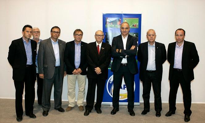 Subies i la FCF, al nou Estadi Nacional d'Andorra