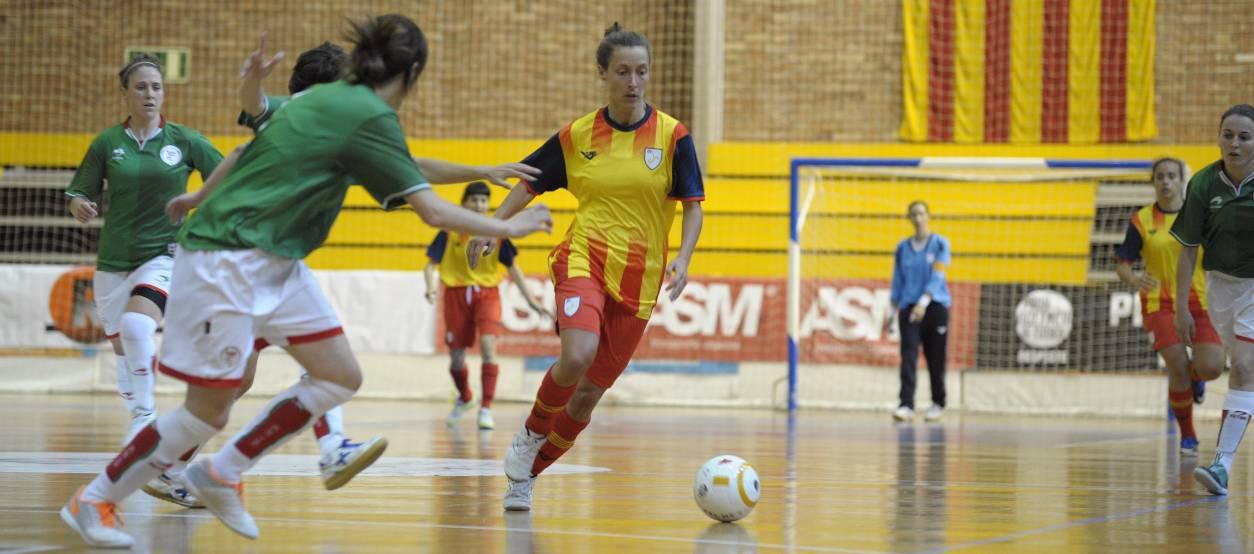 La catalana Berta Velasco convocada, de nou, amb la selecció nacional femenina de futbol sala