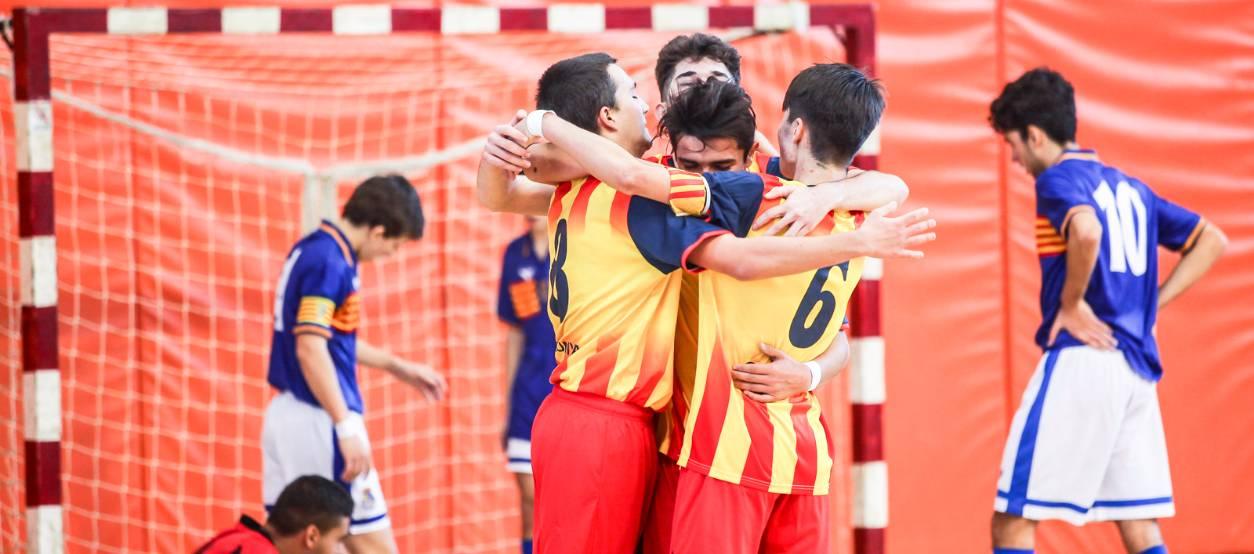La fase prèvia del Campionat d'Espanya sub 16 de futbol sala a terres tarragonines