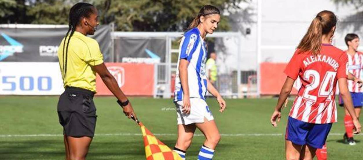L'àrbitra Matilde Esteves, seleccionada pel curs CORE de la UEFA