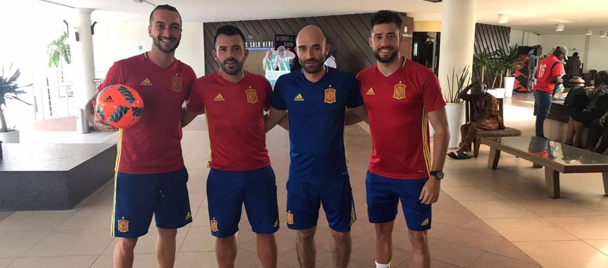 Tres catalans convocats amb la Selecció Espanyola de Futbol Platja