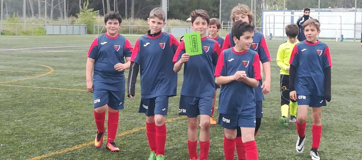 El FC Matadepera, un canvi positiu en l'aspecte educacional
