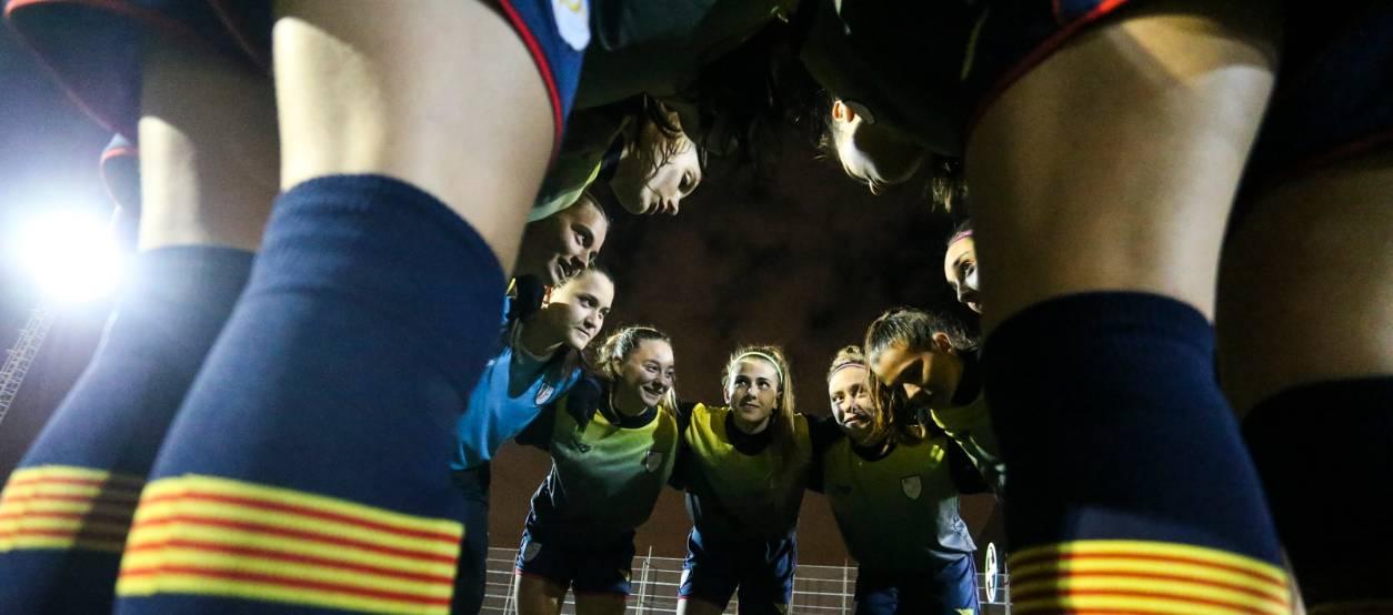 Catalunya es prepara per disputar la primera fase femenina