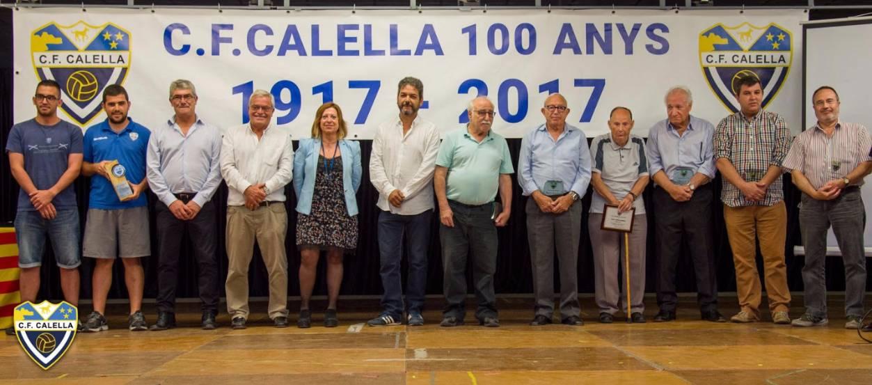 Presència federativa a la presentació oficial del CF Calella