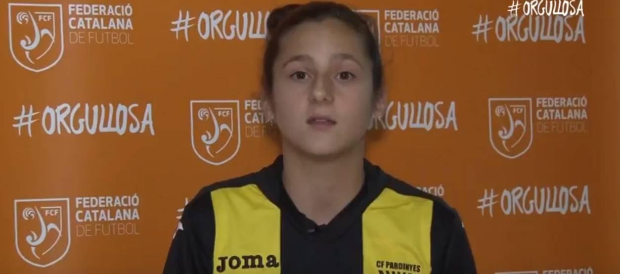 Entrevista a la jugadora del CF Pardinyes, Alexandra Taberner
