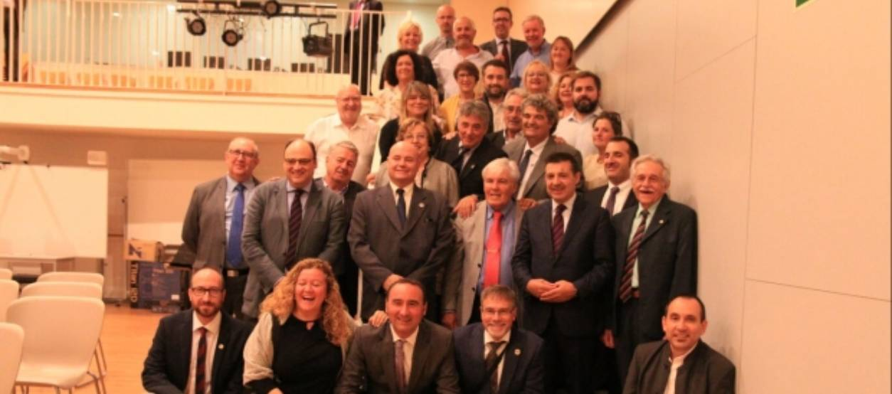 La Penya Blaugrana Sant Cugat premia a 18 socis per la seva fidelitat