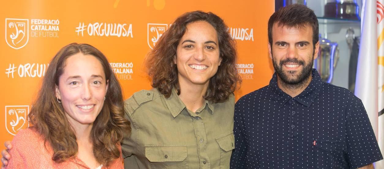 Les Seleccions Catalanes Femenines recolzen #Orgullosa