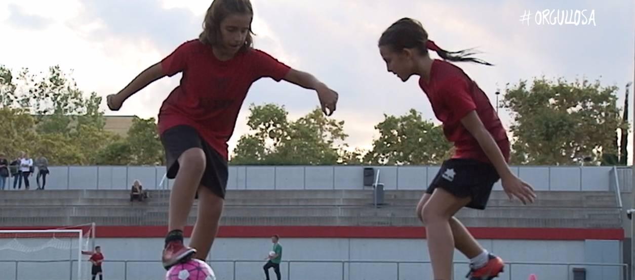 La UD Viladecans confia en donar un pas endavant de la mà d'#Orgullosa