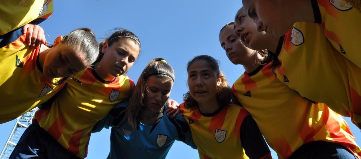 Set catalanes convocades amb la selecció sub 19 femenina espanyola