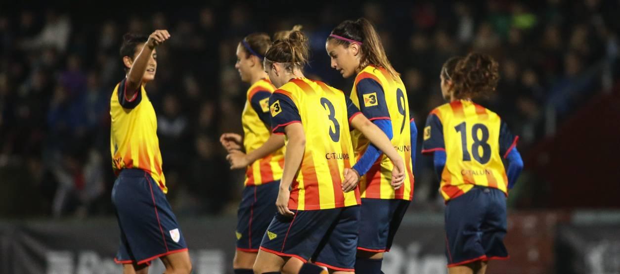 Cinc catalanes convocades amb la Selecció Absoluta Femenina Espanyola