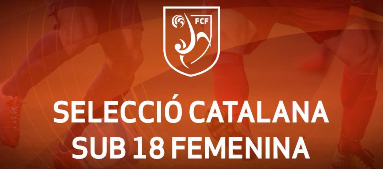 Convocatòria d'entrenament sub 18 femenina: 17.10.17