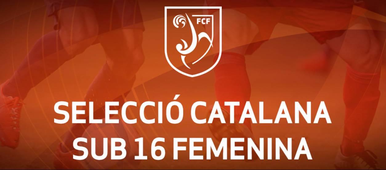 Convocatòria d'entrenament sub 16 femenina: 17.10.17