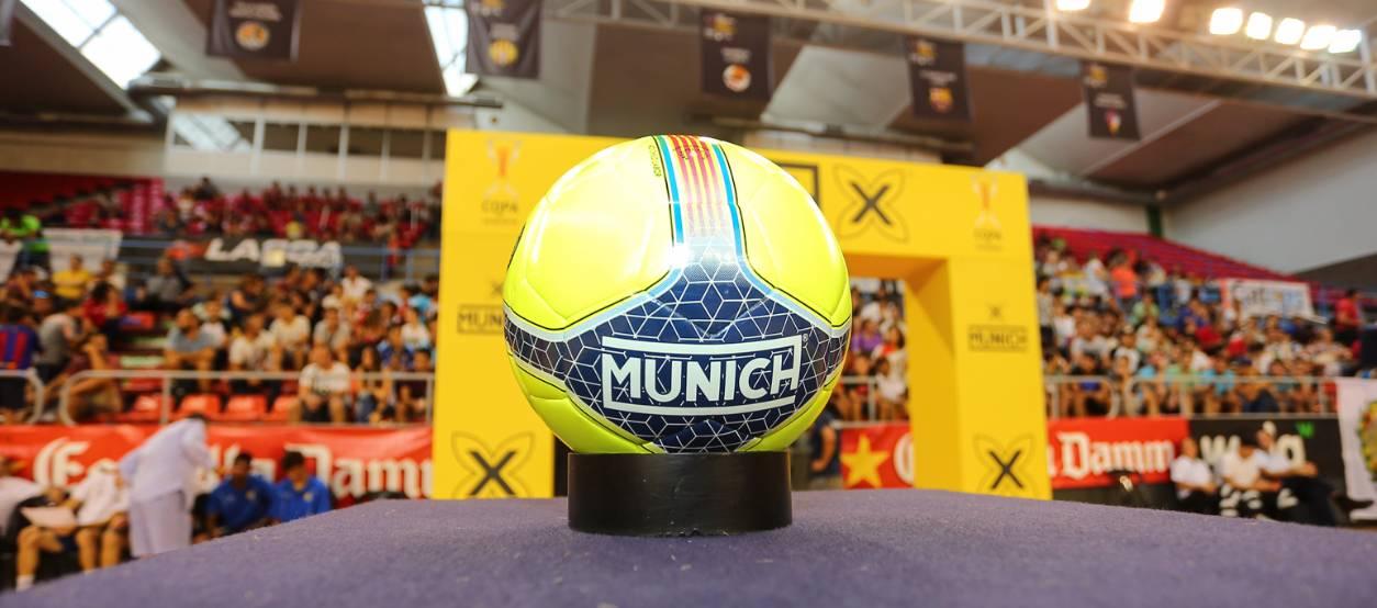 Munich, la nova pilota oficial de futbol sala