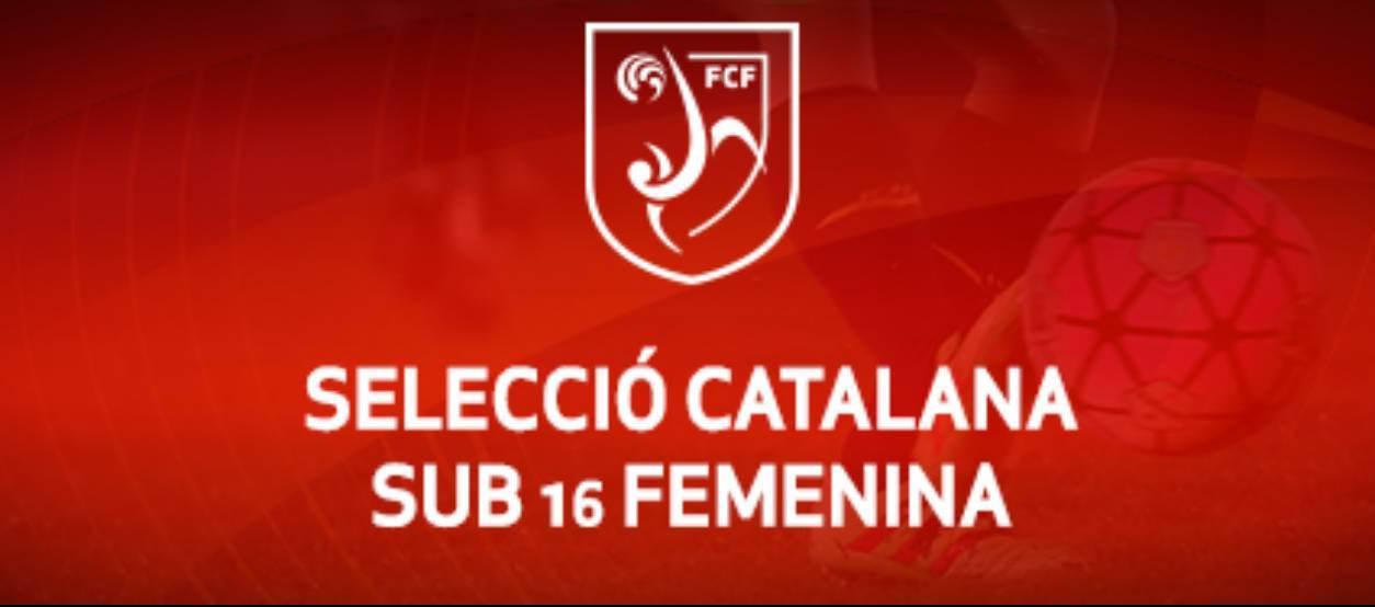 Convocatòria d'entrenament sub 16 femenina: 24.10.17
