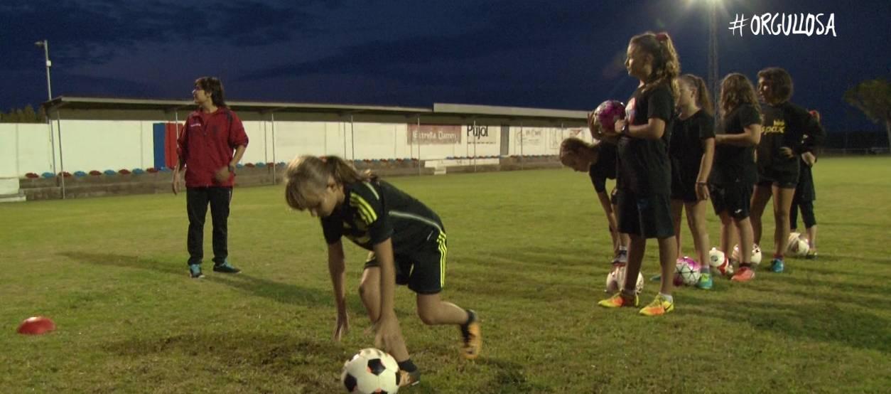 El CF Soses Femení, deu anys apostant pel futbol femení