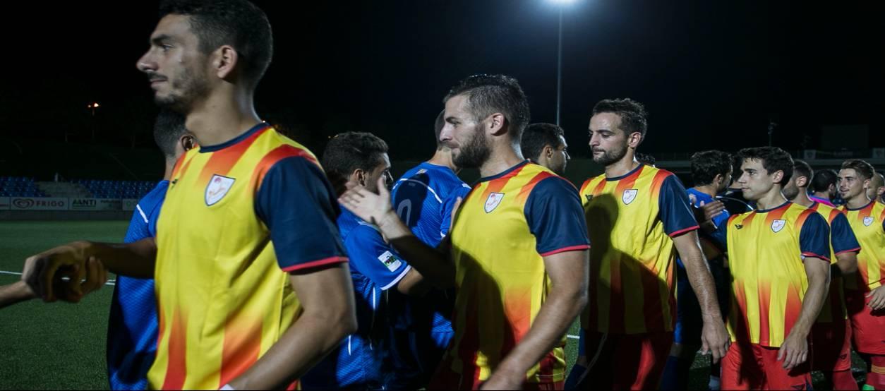 La CatUEFA s'enfrontarà a l'Espanyol 'B' per preparar la Copa Regions