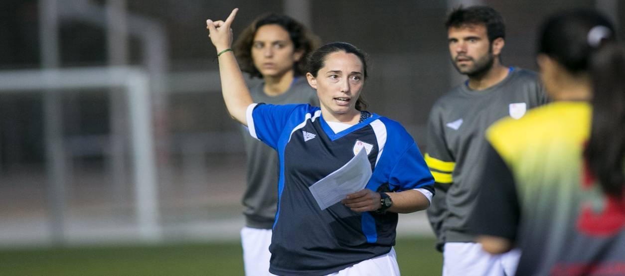 """Mireia Vera: """"El treball en el futbol femení ha avançat amb clubs que aposten per crear seccions"""""""