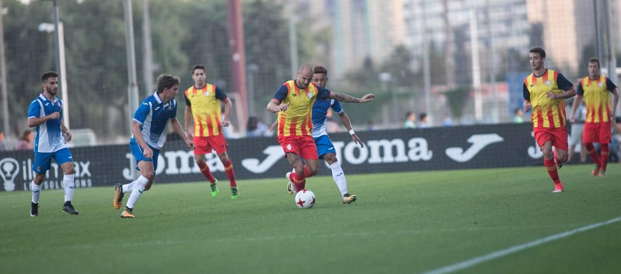 La CatUEFA obté un meritori empat davant un seriós Espanyol 'B'