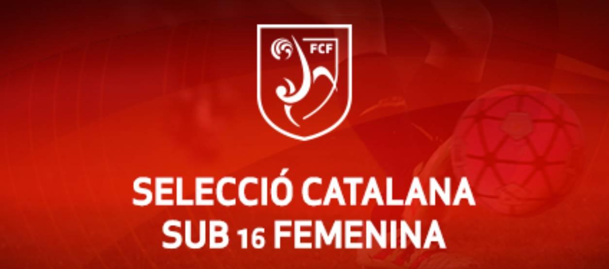 Convocatòria d'entrenament sub 16 femenina: 31.10.17