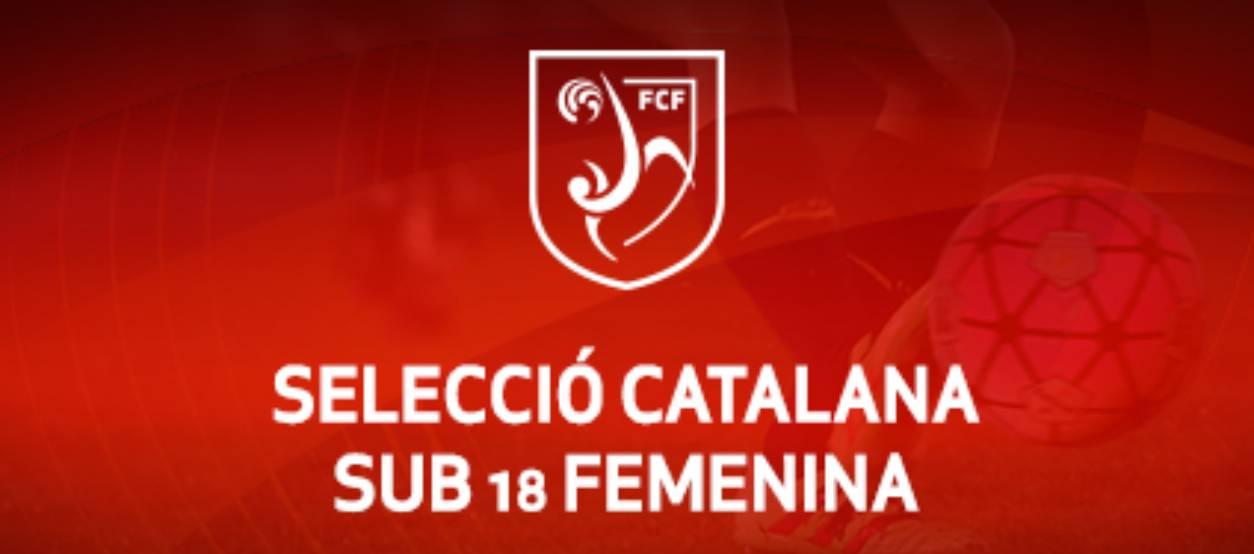 Convocatòria d'entrenament sub 18 femenina: 31.10.17