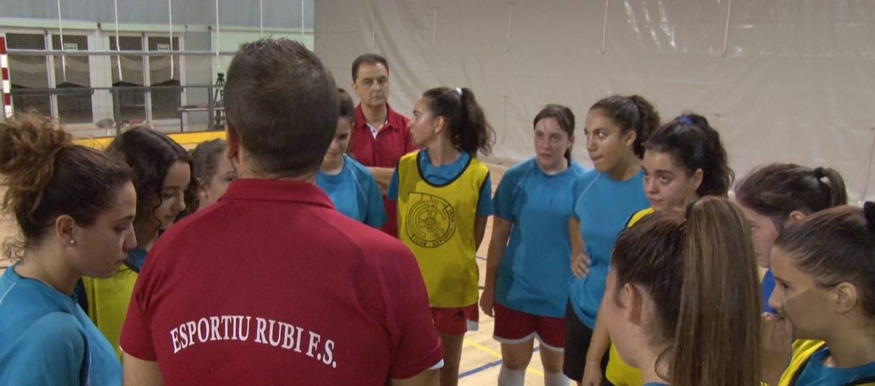 El CE Rubí FS reforça la seva base per tornar a l'elit del futbol femení