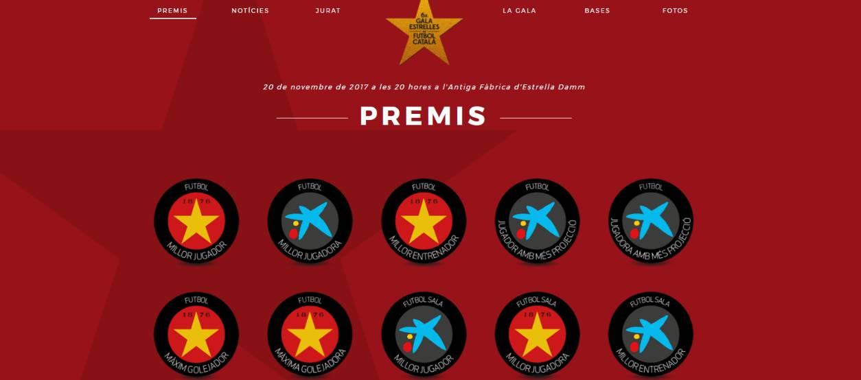 Votacions obertes per elegir els millors candidats de la 6a Gala de les Estrelles