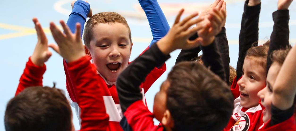 Els promeses de futbol sala preparats per celebrar la seva 1a Trobada