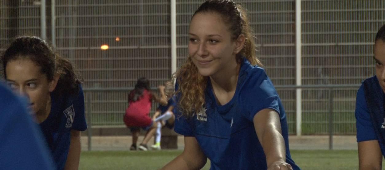 Entrevista a la jugadora de la UD Unificación Bellvitge, Alba Peraleda
