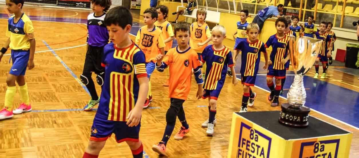 Adjudicats els coeficients per la Copa Catalunya de Futbol Sala