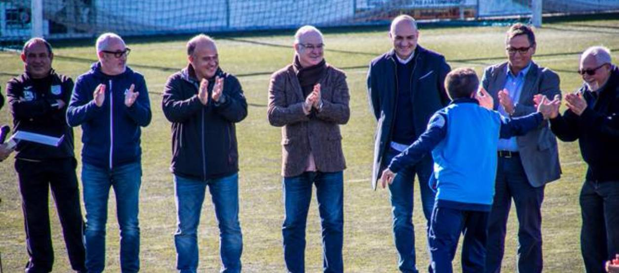 El CF Cambrils Unió presenta els seus equips a l'afició