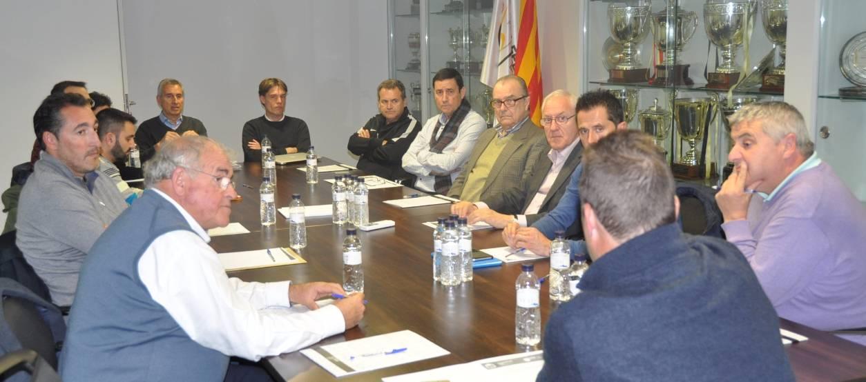 El Comitè Tècnic d'Entrenadors es reuneix per posar en comú les activitats de la temporada
