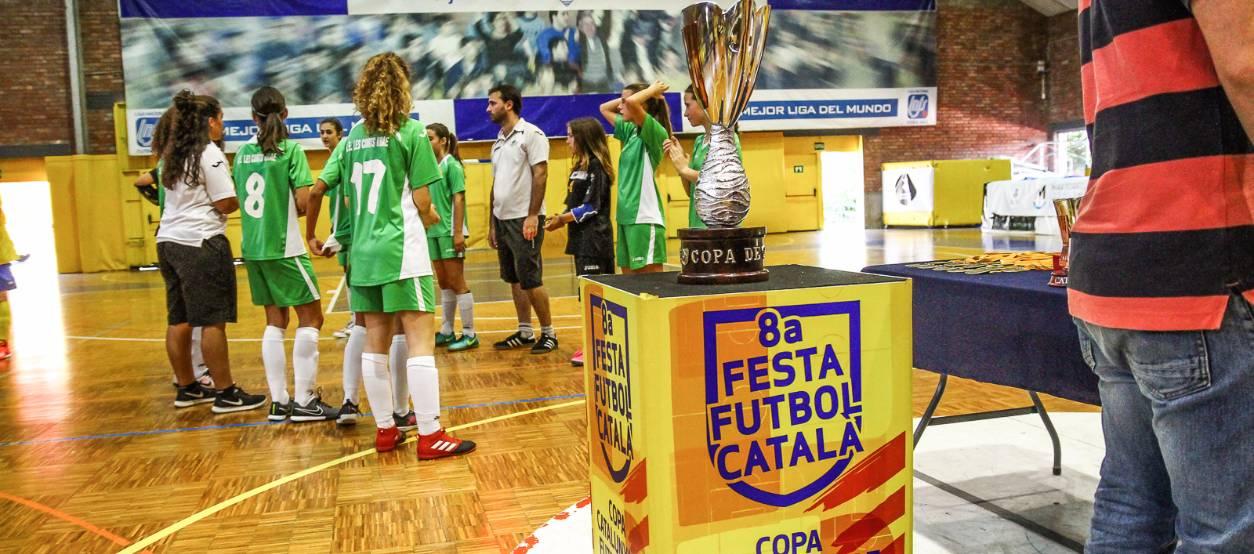 Tot preparat perquè comenci la Copa Catalunya de Futbol Sala