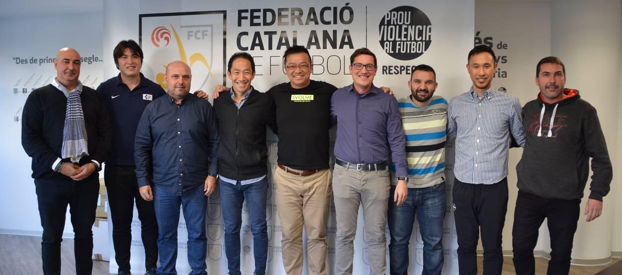 La Federació Japonesa interessada, en el model del futbol sala català
