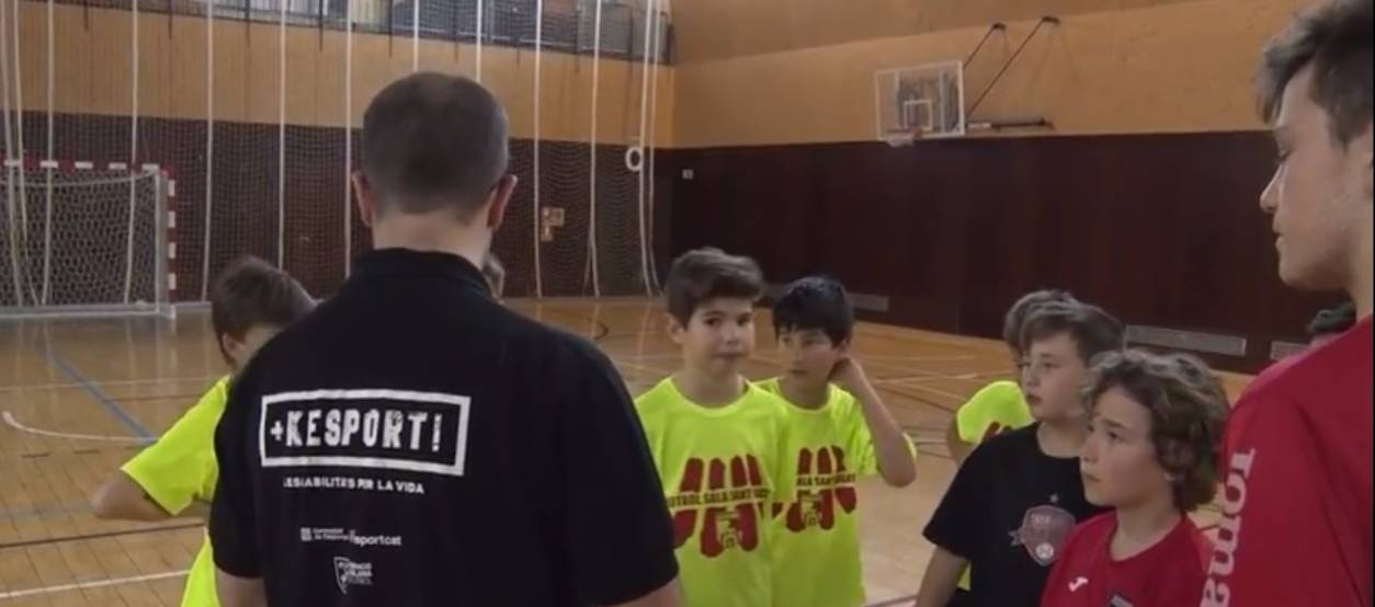 El FS Sant Cugat, a la recerca de millors futbolistes i ciutadans