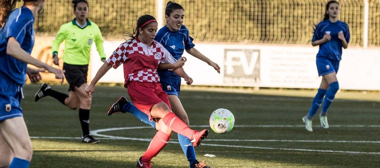 Victòria d'una efectiva Castella i Lleó sub 18 femenina contra Navarra