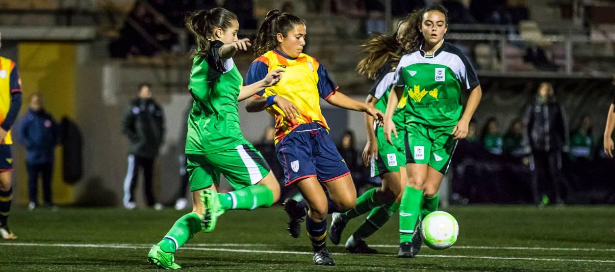 La sub 18 femenina debuta amb una solvent victòria davant Extremadura