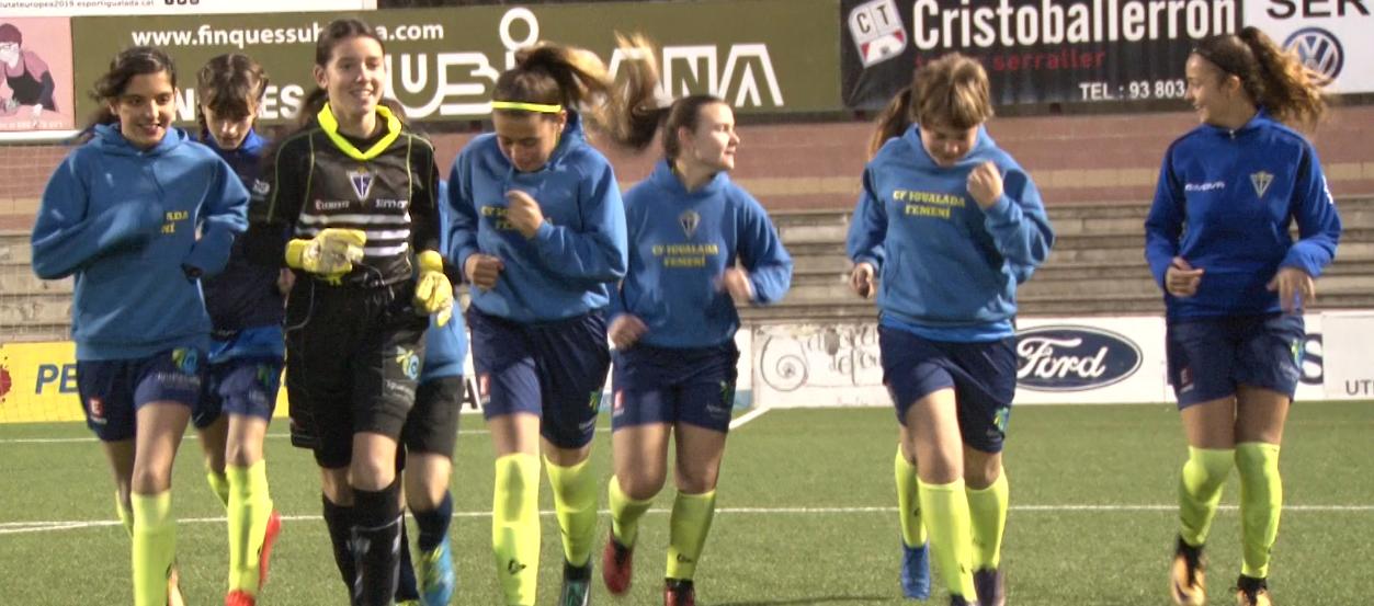 El CF Igualada, tradició i treball per millorar el futbol femení