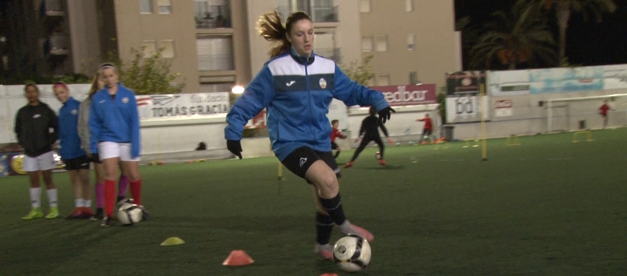 Entrevista a la jugadora del FC Suburense, Olatz Sistiaga