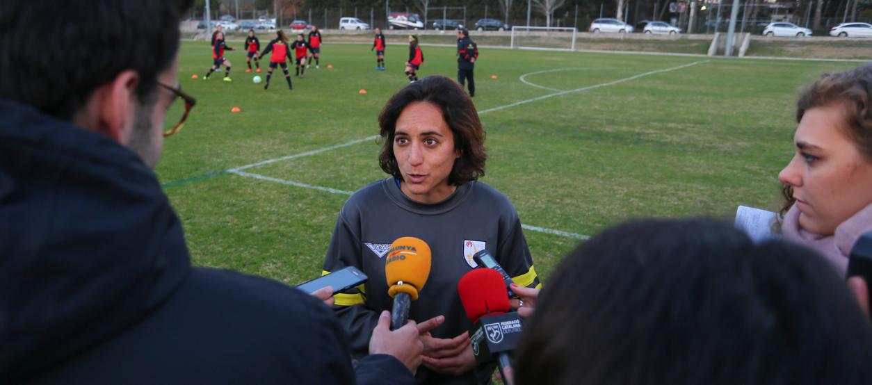 """Natàlia Arroyo: """"Volem que la gent gaudeixi amb el nostre joc i se senti orgullosa de nosaltres"""""""