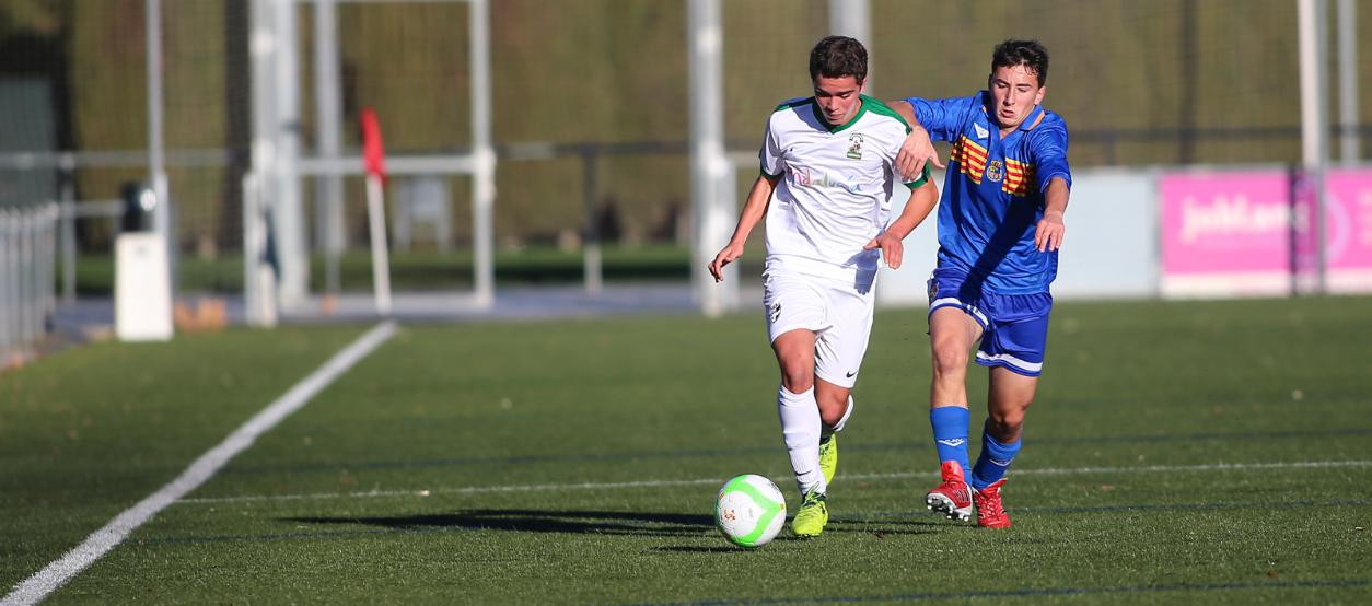 Treballat empat entre les seleccions d'Andalusia i Aragó sub 16 masculines